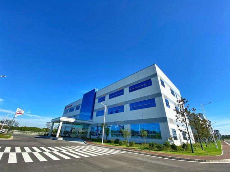 Leyou New Energy Materials cathodes plant in Wuxi, Jiangsu province / Courtesy of LG Chem
