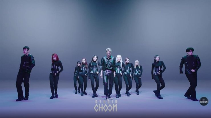 A screenshot from EXO Kai's