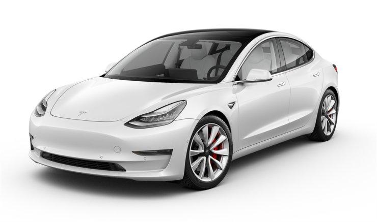 Tesla Model 3 / Courtesy of Tesla Korea
