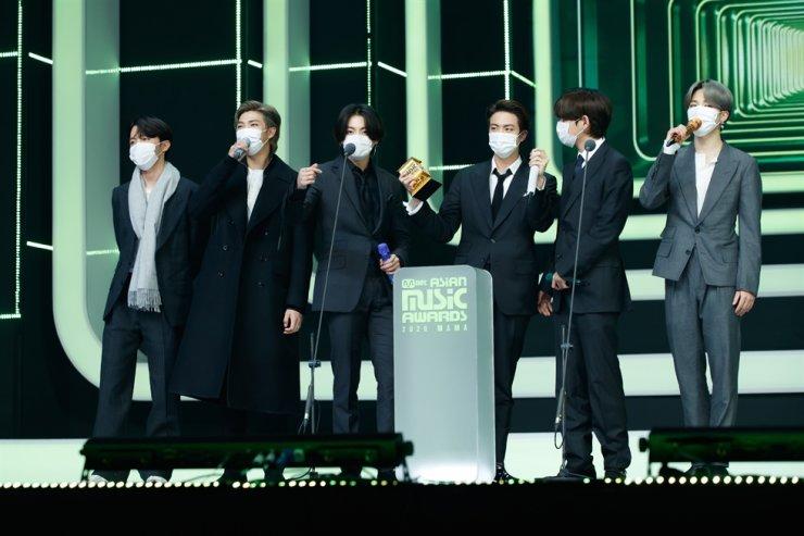 BTS / Courtesy of Mnet
