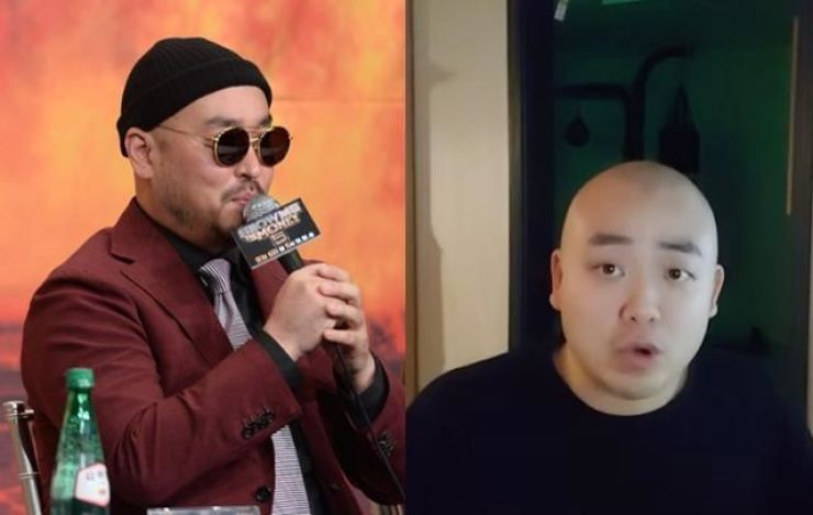Rapper and producer Gil of hiphop duo Leessang, left, and singer and producer Tank / Korea Times file-Screen captured from Tank's YouTube