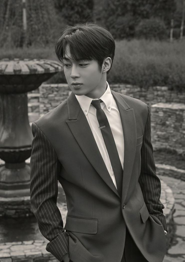 K-pop boy band SF9's Dawon confirmed his role in tvN's new series 'Doom at Your Service.' Courtesy of FNC Entertainment