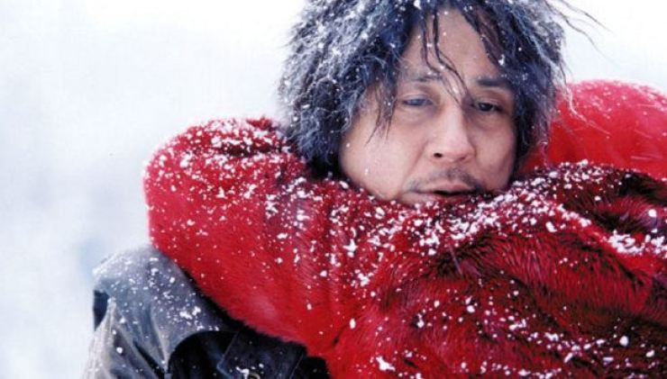 Choi Min-sik in a scene from movie 'Old Boy.' Korea Times file