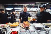 Despite facing uncertainties, barbecuer Linus Kim chips in to rally Itaewon neighborhood