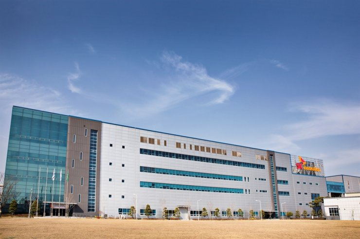 SK Innovation's battery plant in Seosan, South Chungcheong Province / Courtesy of SK Innovation