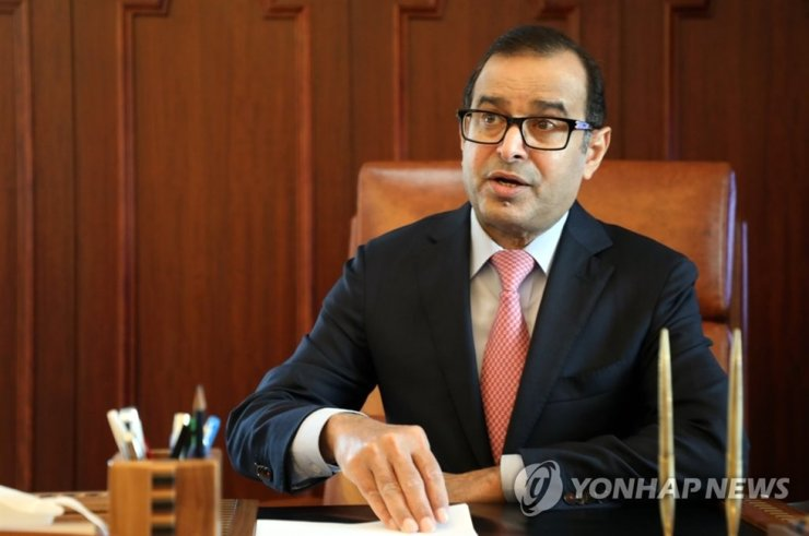 Saudi Arabian Ambassador to South Korea Riyad Almubaraky / Yonhap