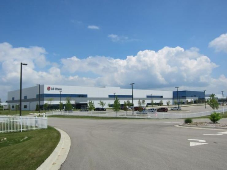 LG Energy Solution's battery plant in Michigan / Courtesy of LG Energy Solution