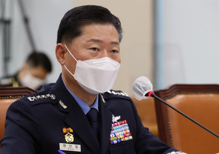 South Korea's Joint Chiefs of Staff Chairman Gen. Won In-choul / Korea Times file