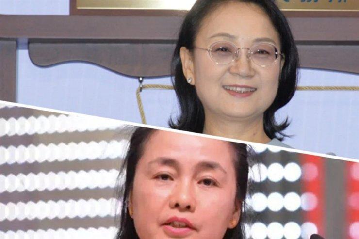 Zhong Huijuan, top, and Fan Hongwei / South China Morning Post