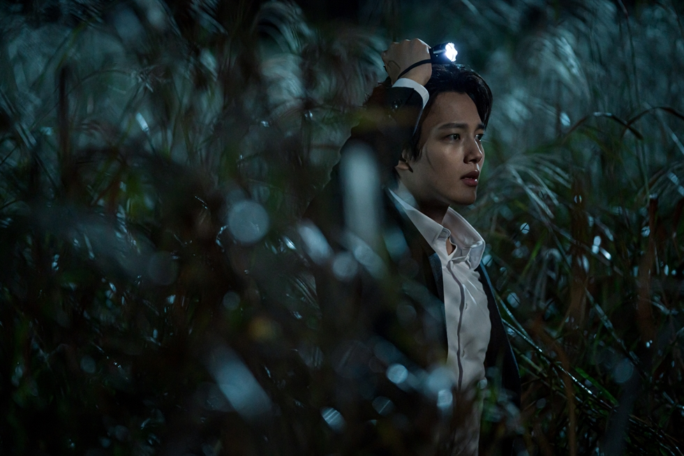 Actor Yeo Jin-goo played elite detective Han Joo-won on JTBC's crime series, 'Beyond Evil,' which ended on Saturday. Courtesy of JANUS Entertainment