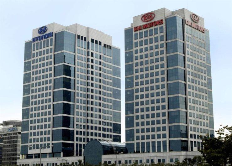 Hyundai Motor and Kia Corp. headquarters in Seoul / Korea Times file