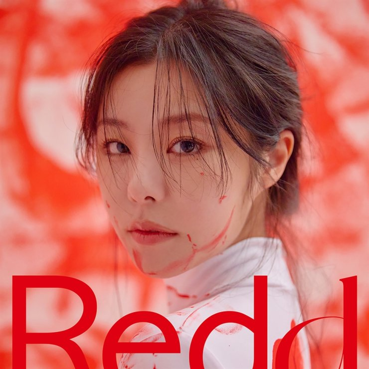 MAMAOO's Wheein released her first solo mini-album, 'Redd,' on April 13. Courtesy of RBW