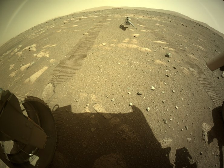 NASA's Ingenuity helicopter dropped on Mars' surface ahead ...