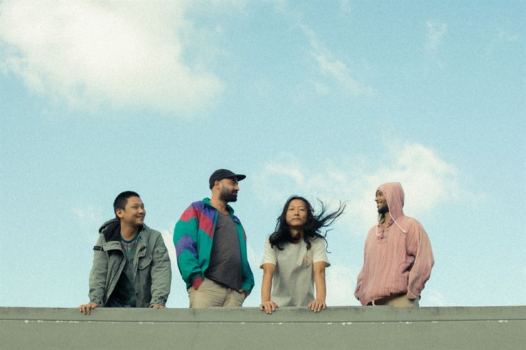 The four members of Omar and the Eastern Power / Courtesy of Eastern Standard Sounds, Abi Raymaker