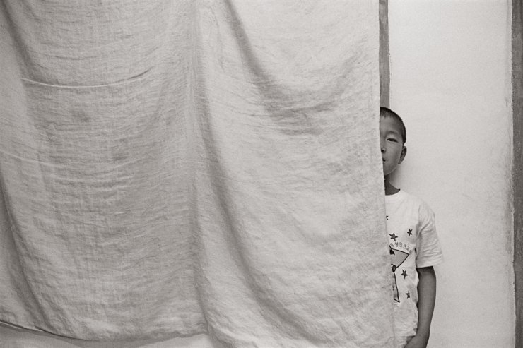 A North Korean orphan, also known by the local vernacular word,