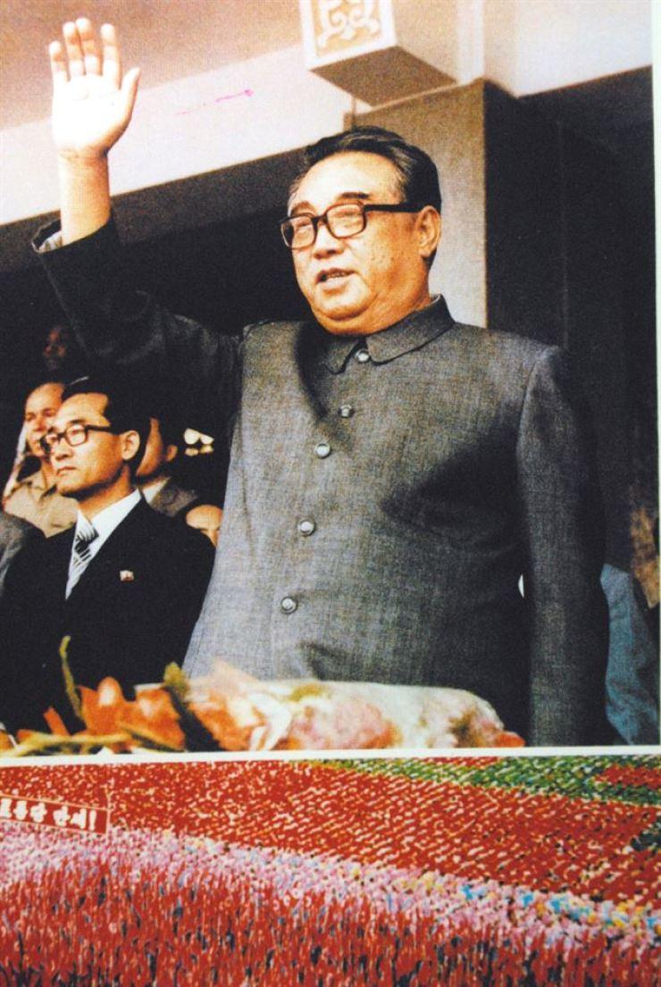 North Korean founder Kim Il-sung / Korea Times file