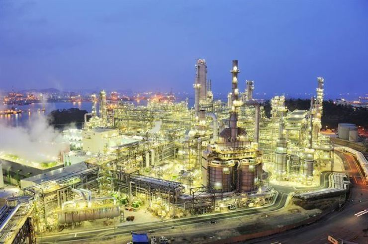 S-Oil's Ulsan paraxylene production plant. Courtesy of S-oil