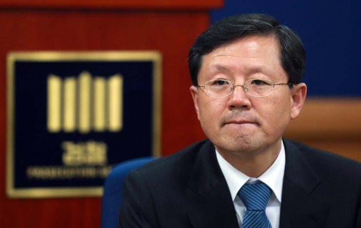 Former chief of the Daegu High Prosecutors Office Yun Gap-geun / Yonhap