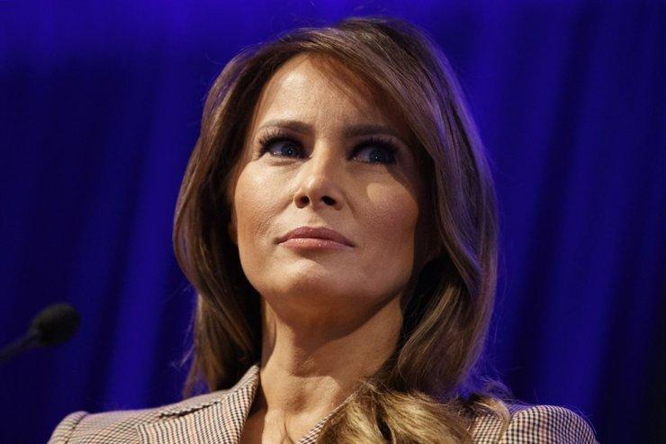 Former U.S. first lady Melania Trump / AP-Yonhap