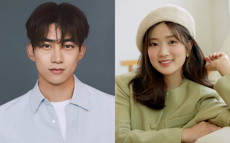 Actors Ok Taec-yeon, left, and Kim Hye-yoon will be featured in the upcoming tvN drama, 'The Secret Royal Inspector and Jo Yi.' Courtesy of 51K, Sidus HQ