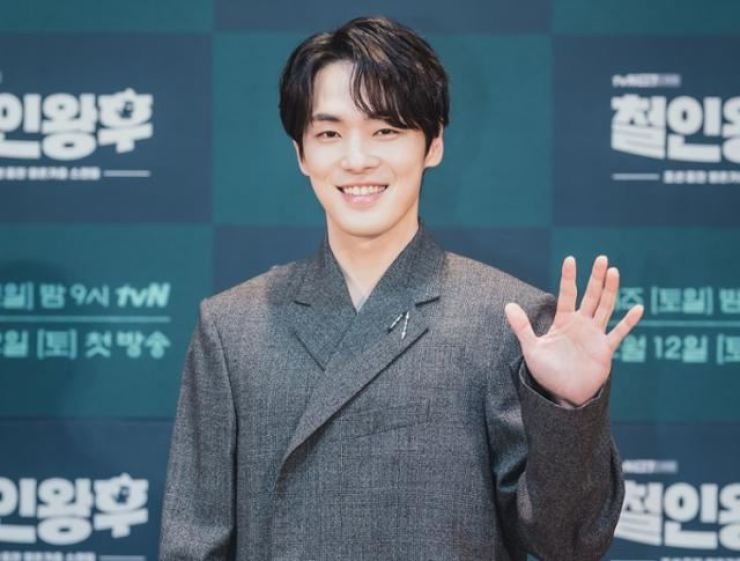 Actor Kim Jung-hyun poses during a press conference for tvN's 'Mr. Queen' in this Dec. 9 file photo / Korea Times file
