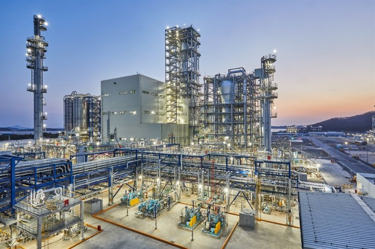 Hanwha Total's polypropylene plant at Daesan, South Chungcheong Province / Courtesy of Hanwha Total