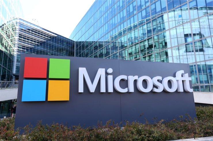 Microsoft headquarters at Issy-les-Moulineaux, near Paris, France / REUTERS-Yonhap