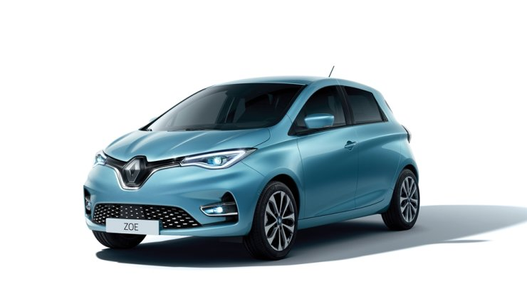 Renault Samsung's electric vehicle ZOE / Courtesy of Renault Samsung