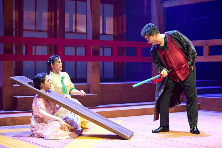 A scene from the opera 'The Chunhyang' / Courtesy of Seoul Arts Center