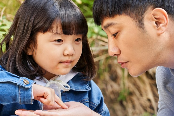 Actors Jin Goo, right, and Jung Seo-yeon in a scene from 'You're So Precious to Me' / Courtesy of Fine Story