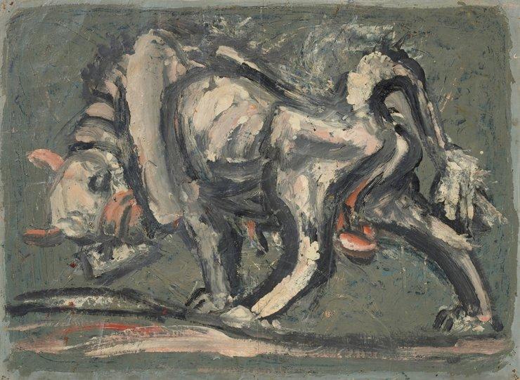 Lee Jung-seob's 'White Ox' (1953-1954) / Courtesy of MMCA