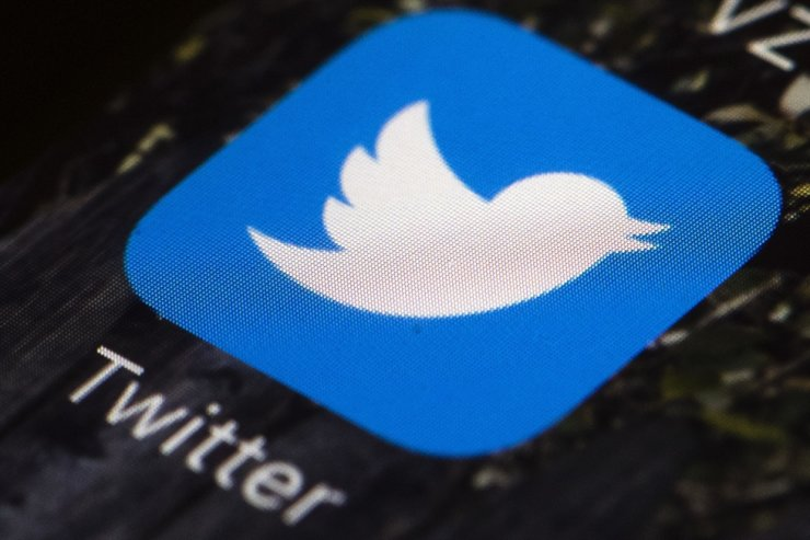 The Twitter app icon on a mobile phone in Philadelphia is seen in this April 26, 2017, file photo. AP-Yonhap