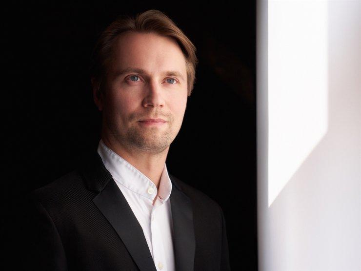 Pietari Inkinen, KBS Symphony Orchestra's new music director / Courtesy of Kaupo Kikkas