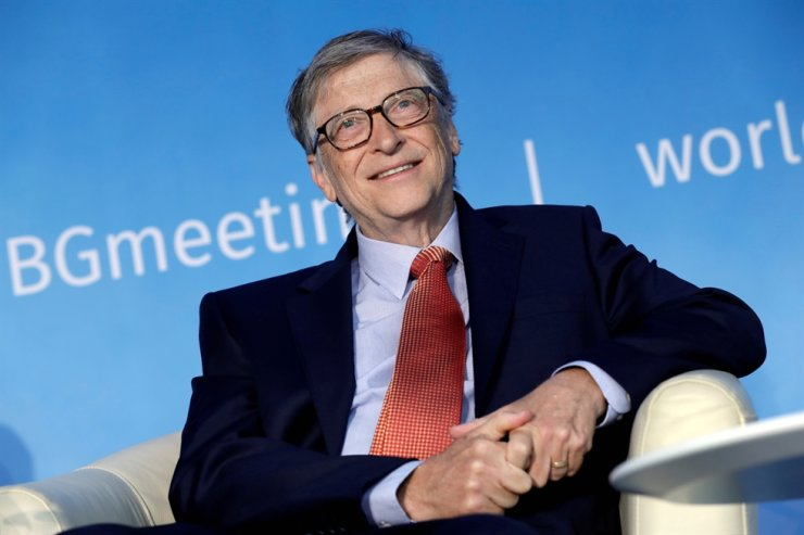In this April 21, 2018, file photo, Bill Gates, co-chair of the Bill & Melinda Gates Foundation, speaks at a panel discussion on Building Human Capital during the IMF/World Bank spring meeting in Washington. Reuters-Yonhap