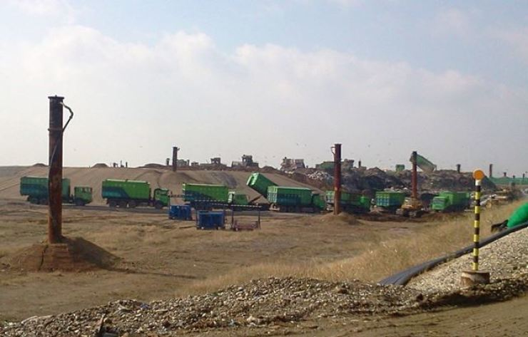 The Seoul Capital Area Landfill in the Baekseok area of Incheon's Seo District, November 2020 / Courtesy of the Incheon City Government