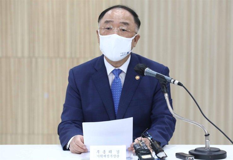Deputy Prime Minister and Finance Minister Hong Nam-ki / Yonhap