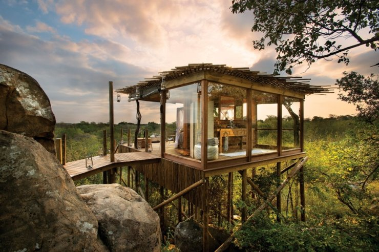 The Lion Sands River Lodge at Limpopo, South Africa / Courtesy of Booking.com