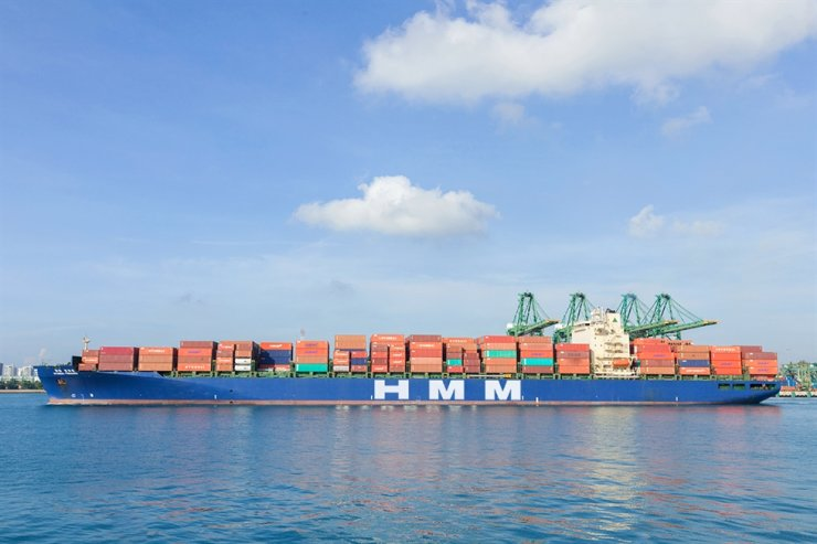 HMM's 5,000 TEU container ship / Courtesy of HMM
