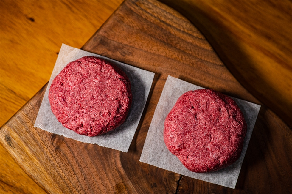 Food tech startup DEVOTIONFOODS makes non-genetically-modified, gluten-free plant-based meat substitutes from textured vegetable protein. Courtesy of DEVOTIONFOODS