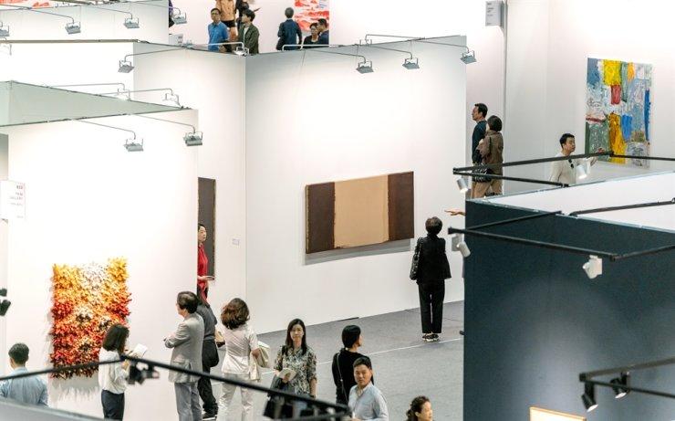 A view of KIAF Art Seoul 2019 / Courtesy of KIAF Art Seoul