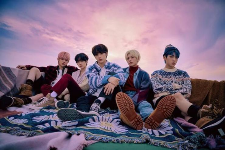 K-pop boy group Tomorrow by Together, better known as TXT / Courtesy of Big Hit Music