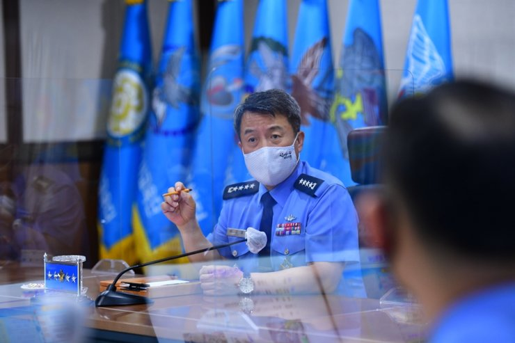 Air Force Chief of Staff Gen. Lee Seong-yong / Yonhap