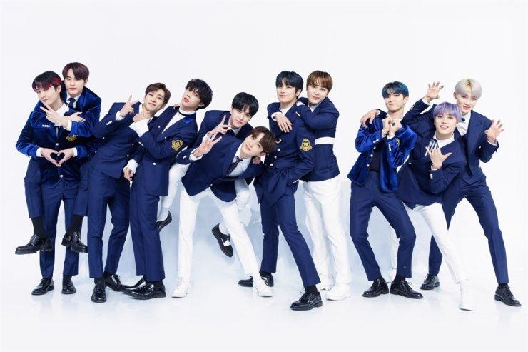 K-pop act The Boyz / Courtesy of Cre.ker Entertainment