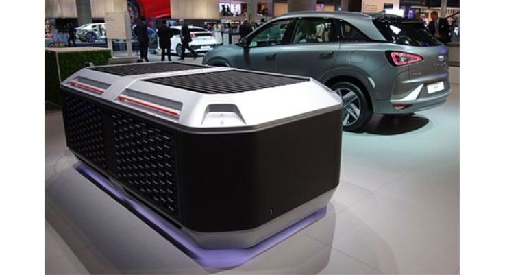 Hyundai Motor Group's fuel cell power generation system / Courtesy of Hyundai Motor Group