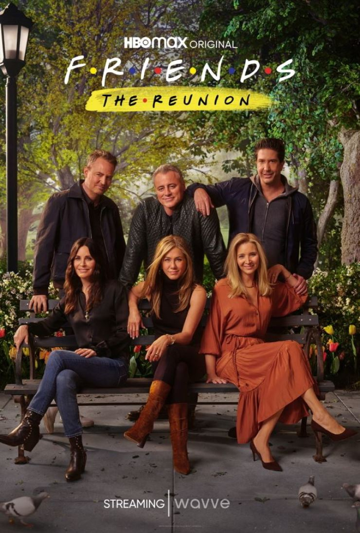 A poster for 'Friends: The Reunion' / Courtesy of wavve