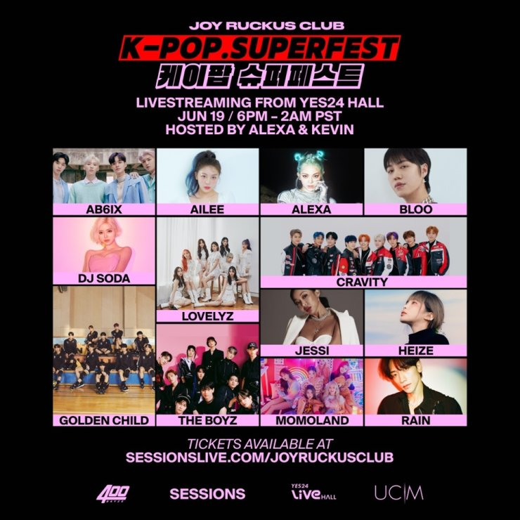 Singers including Ailee and AleXa are poised to appear at K-POP SUPERFEST, June 19. Courtesy of the Joy Ruckus Club
