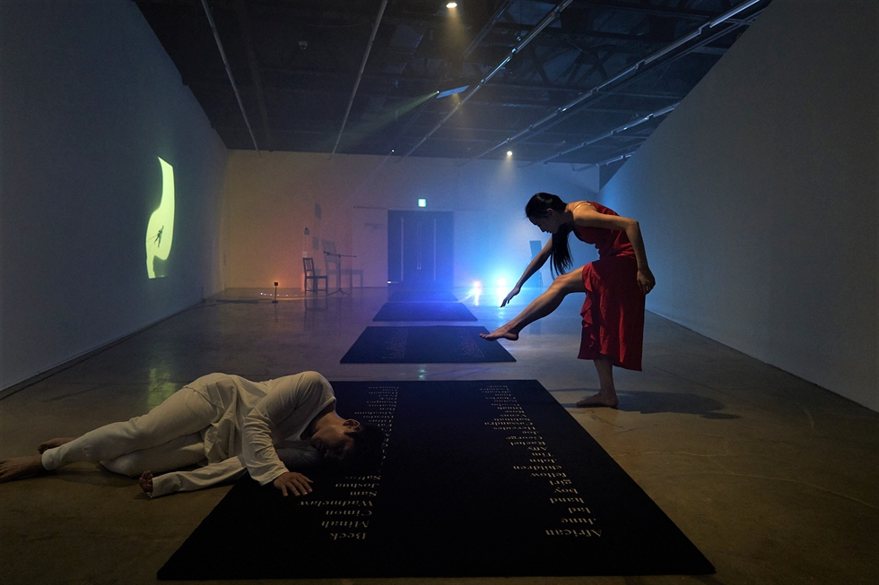 Shon Kyung-hwa's 'A Neverland of Fragments: A Place of Wordless Things and Thingless Words' (2016) / Courtesy of Arko Art Center