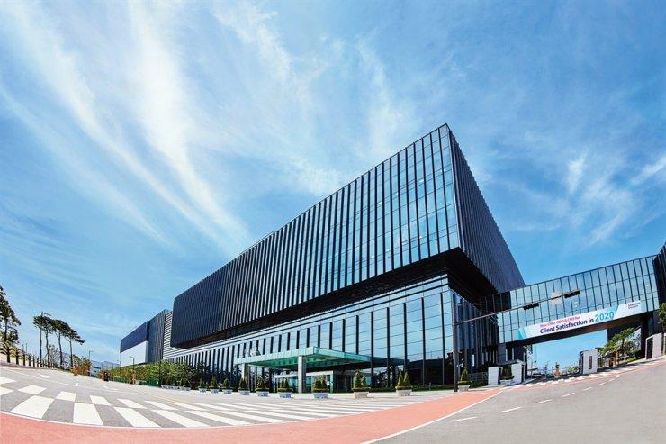 Samsung Biologics' office in Songdo, Incheon / Courtesy of Samsung Biologics