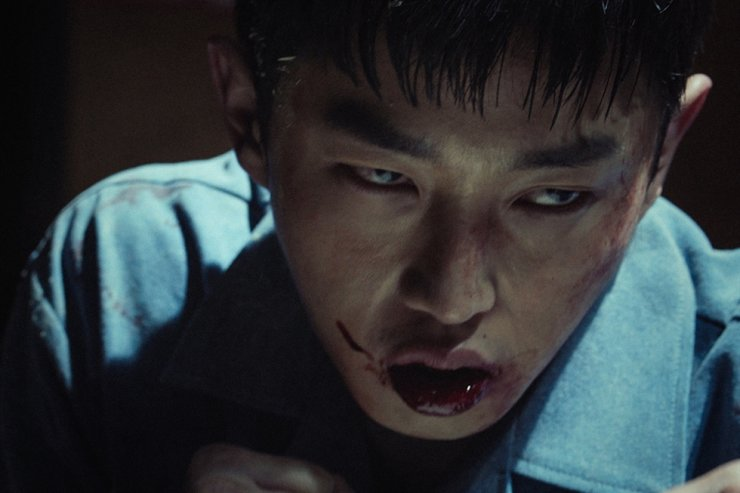 Actor Kim Min-seok in a scene from 'Shark: The Beginning' / Courtesy of Tving