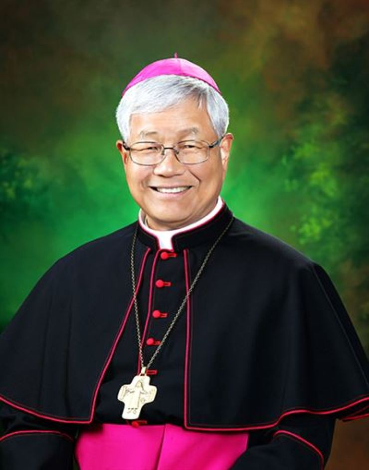 Archbishop Lazzaro You Heung-sik, who was newly named as Prefect of the Congregation for the Clergy of the Holy See / Catholic Bishops' Conference of Korea